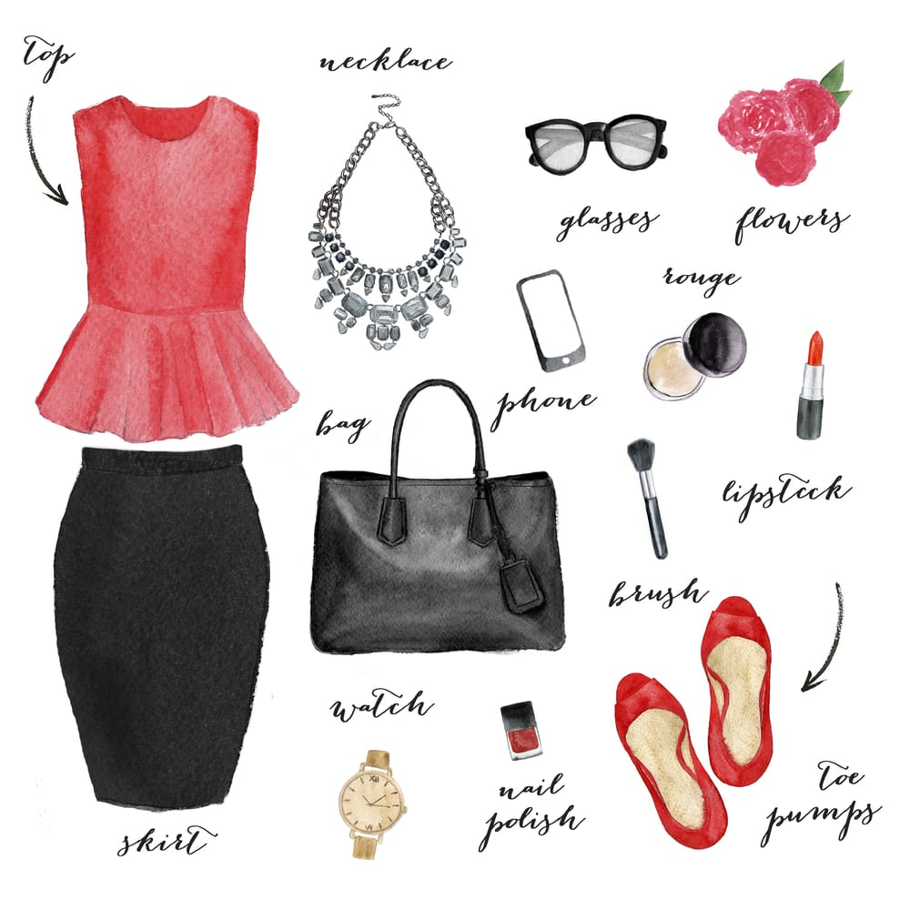 Business Casual Outfit Set