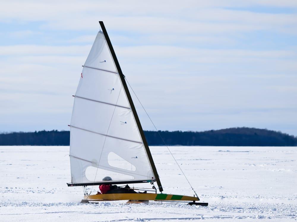 Ice Sailing