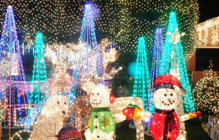 Candy Cane Lane Los Angeles in 2016