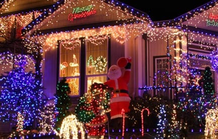 Candy Cane Lane Seattle in 2016