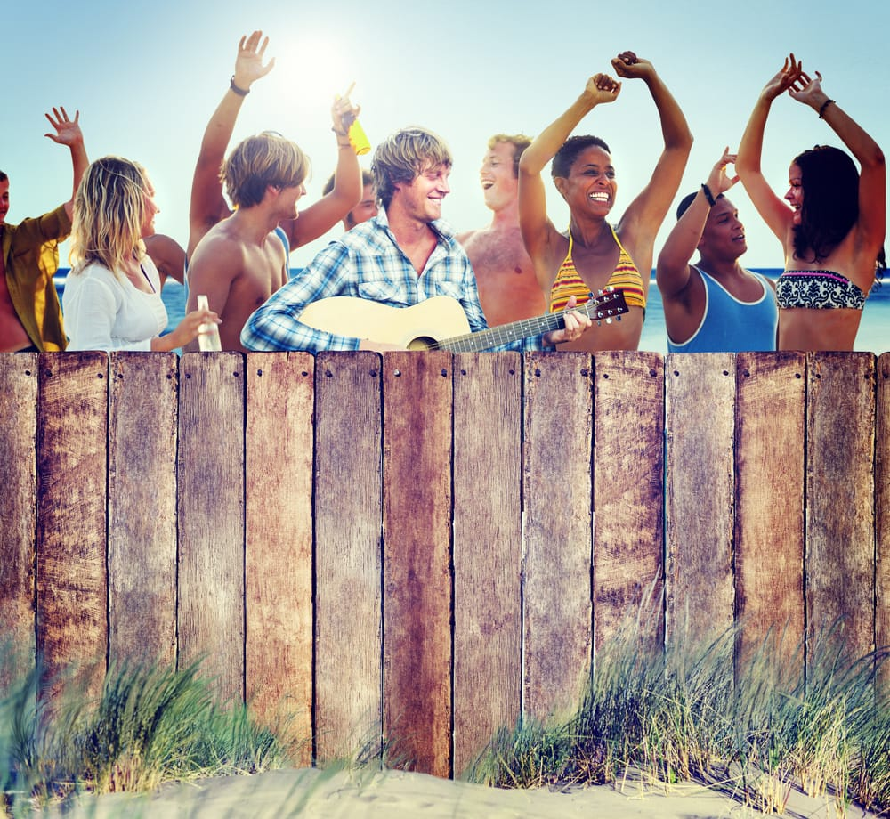 cw12_1_Multi-Ethnic Group of People Partying Outdoors
