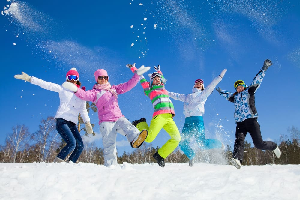 cw12_2_group of friends have a good time in winter resort