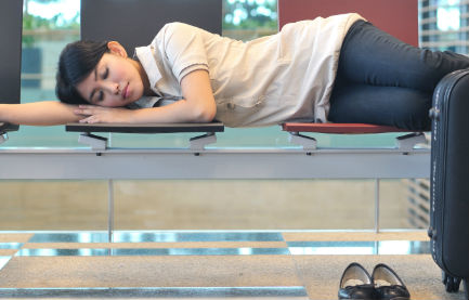 Survival Tips for Sleeping in an Airport