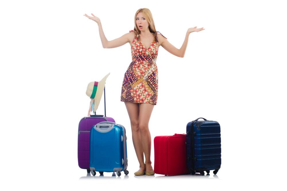 Body - female traveler