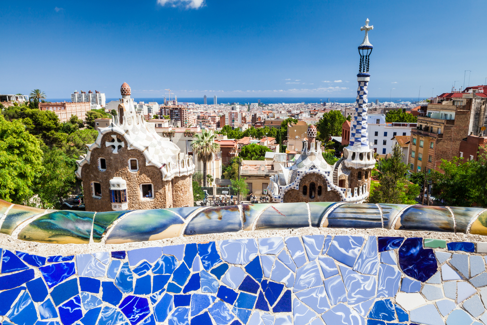 Body - park guell