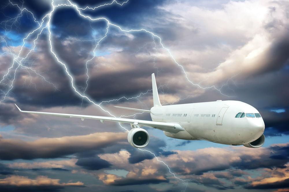 Body - plane in thunderstorm
